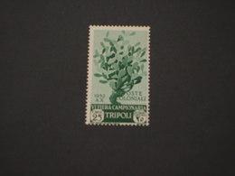 TRIPOLITANIA - 1932 VI FIERA (albero)25 C. - NUOVO(+) - Tripolitania