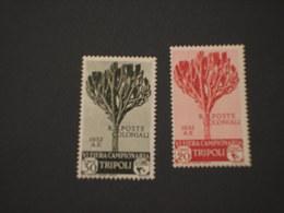 TRIPOLITANIA - 1932 VI FIERA (albero) 20 C.- 30 C. - NUOVO(+) - Tripolitania