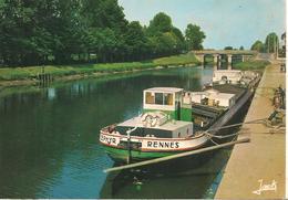 CPA-1970-44-BLAIN-PENICHE ZEPHIR-sur Canal NANTES A BREST-TBE - Houseboats