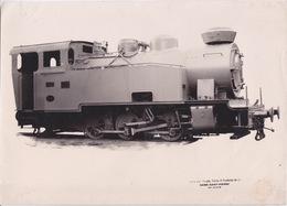 PHOTO - HAINE SAINT PIERRE - La Louvière Belgique - Ateliers Baume Marpent - Train LOCOMOTIVE - - Trains
