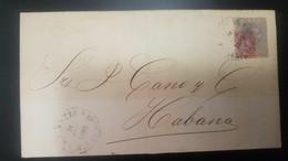 O) 1883 CUBA-CARIBE, CARIBBEAN, ARAÑITAS OVERPRINTED OR RED -ARANITAS, ON KING ALFONSO XII. FROM ISLA GRENADA, XF - Cuba