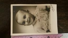 PHOTO ENFANT POSANT POUR LA PHOTO 1941 PHOTOGRAPHE MICHENET - Portraits