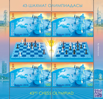 Kyrgyzstan.2018.43rd Chess Olympiad. M/s. ** . - Schaken