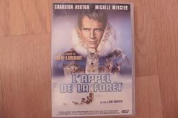 DVD L'Appel De La Foret Avec Charlton Heston Et Michele Mercier - Comme Neuf - Action, Aventure