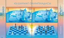 Kyrgyzstan.2018.43rd Chess Olympiad.2 V. + 2 Tab. **. - Kyrgyzstan