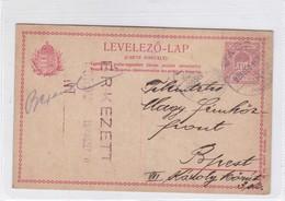 ENTIER ENTERO MAGYAR KIR CIRCULEE TO HAMBURG. HONGRIE CIRCA 1920-BLEUP - Postal Stationery