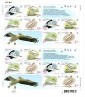 Ukraine 2007 WWF Sheet Fauna Birds / Feuille Faune Oiseaux Y&T N° 822 & 825 MNH** - Ukraine