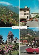 5028a: AK Liechtenstein Vaduz, Nach Österreich Gelaufen - Liechtenstein