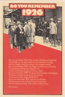 DO YOU REMEBER 1926.  MODERN - Other
