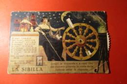 CARTOLINA   LA SIBILLA SCEGLI LA DOMANDA     E  1007 - Cartoline