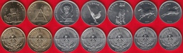 Nagorno Karabakh Set Of 7 Coins: 50 Luma - 5 Drams 2004 UNC - Nagorno-Karabakh