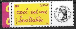 France 2004 N° 3636A Neuf** Avec Vignette Cote 5 Euros - Frankreich