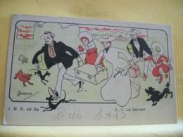 L10 9697 CPA 1903 - ILLUSTRATEURS - 1. LE DEPART PAR ALBERTILUS. - Autres Illustrateurs