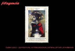 CUBA MINT. 2010-39 22 FESTIVAL INTERNACIONAL DE BALLET EN LA HABANA - Cuba