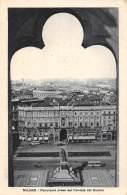 MILANO - Panorama Preso Dal Frontale Del Duomo - Milano (Milan)