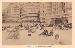 OSTENDE - La Plage Et Les Hôtels - Oostende