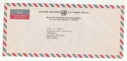 UN MASTER PLAN For KARACHI METROPOLITAN REGION Pakistan COVER  To UN NY USA  United Nations - UNO