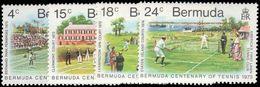 Bermuda 1973 Lawn Tennis Unmounted Mint. - Bermuda