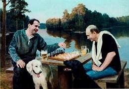 Schach Chess Ajedrez échecs - Putin - Medvedev - Schach
