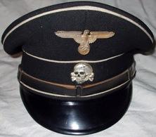 CASQUETTE ALLGEMEINE  SS   1935.1945  WW2 - Copricapi