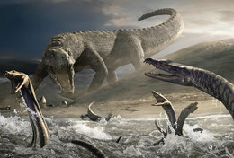 [T48-102]  Prehistorics Dinosaur , Pre-stamped Card Postal Stationery - Stamps