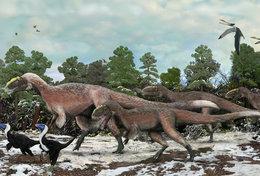 [T48-105]  Prehistorics Dinosaur , Pre-stamped Card Postal Stationery - Stamps