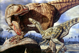 [T48-113]  Prehistorics Dinosaur , Pre-stamped Card Postal Stationery - Stamps