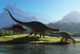 [T48-116]  Prehistorics Dinosaur , Pre-stamped Card Postal Stationery - Stamps