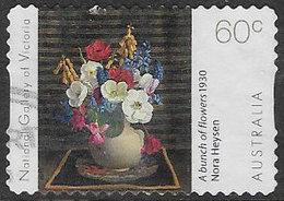 Australia 2011 Nora Heysen 60c Type 1 Self Adhesive Good/fine Used [38/31217/ND] - 2010-... Elizabeth II
