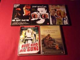 LOT DE 5 DVD   POUR 10 EUROS ( Lot  42  ) - Action, Aventure