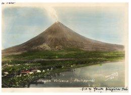 (101) Older Postcard - Philippines - Mayon Volcano (1957) - Philippines