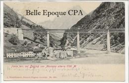 Italie - Ponte Ferr. Sul DOGNA Con Montasio Alterra 1756 M. ++++ A. Schwidernoch, Deutsch-Wagram ++++ RARE - Altre Città