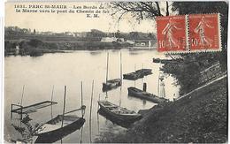 Parc Saint Maur Les Bords De La Marne CPA 1922 - Saint Maur Des Fosses