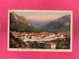 06 Alpes Maritimes, Roquebillière, Vue Générale, Colorisée, 1950, (Passeron) - Roquebilliere