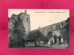 27 Eure, Bec-Hellouin, Le Château De L'Abbatiale, La Tour, Animée, (Brionne) - France