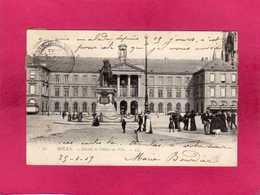 76 Seine Maritime, Rouen, Façade De L'Hôtel-de-Ville, Animée, 1905, (L. L.) - Rouen