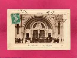 65 Hautes Pyrénées, Lourdes, Le Rosaire, Le Portail, Animée, (L. L.) - Lourdes