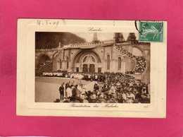 65 Hautes Pyrénées, Lourdes, Bénédiction Des Malades, Animée, (L. L.) - Lourdes
