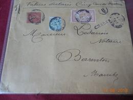 Lettre Chargee De 1906 - Marcophilie (Lettres)