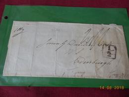 Lettre Chargee De 1824 D Angleterre A Destination D Edimbourg (Ecosse) - Marcophilie (Lettres)