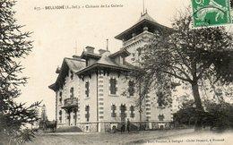 CPA - BELLIGNé (44) - Aspect Du Château De La Galerie En 1912 - France