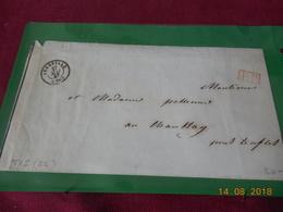Lettre Chargee De 1847 Au Depart D Abbeville - Marcophilie (Lettres)