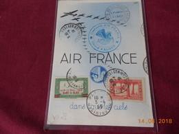 Carte Postale D Algerie Francaise De 1939 De La Cie Air France - Algerien (1924-1962)