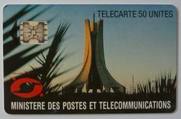 ALGERIA - Chip - 50 Units - Schlumberger - Test / Trial - Ministere Des Postes Et Telecommunications - Mint - Algeria