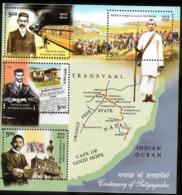 INDIA-2007   MINIATURE SHEET  / THE CENTENARY OF SATYAGRAHA /GANDHI - India