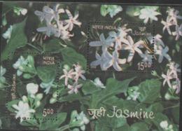 INDIA-2008   MINIATURE SHEET  / JASMINE / FLORA - India