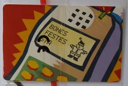 ANDORRA - Chip - Mobiland - A-084 - Bones Festes Xmas 97 - 7000ex - 12/97 - Mint Blister - Andorra