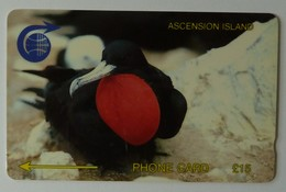 ASCENSION ISLANDS - GPT - £15 - 2CASC - Used - Ascension (Insel)