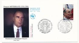 Enveloppe FDC - François MITTERAND - Premier Jour CHATEAU-CHINON 1997 - 2000-2009