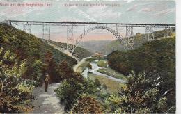 AK 0006  Kaiser Wilhelm-Brücke In Müngsten - Verlag Fülle Um 1909 - Brücken